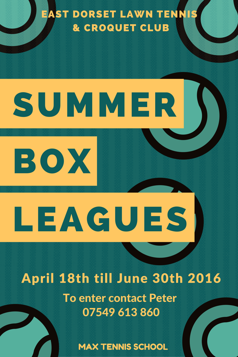 Summer Box Leagues