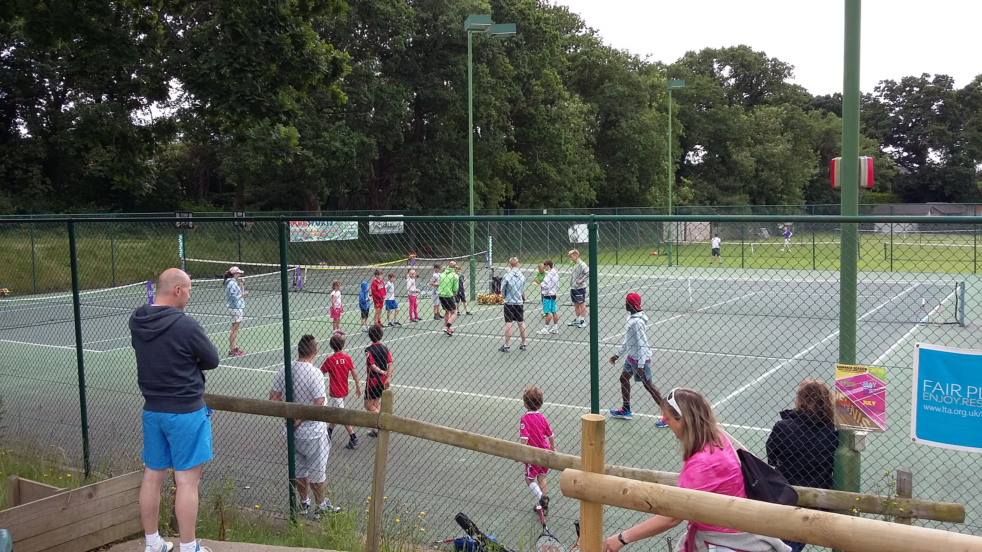 Tennis Open Day a success!