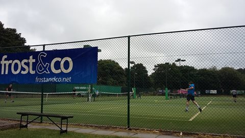 A busy week of tennis at the Dorset Open