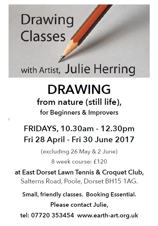 Drawing classes, Apr-Jun 2017