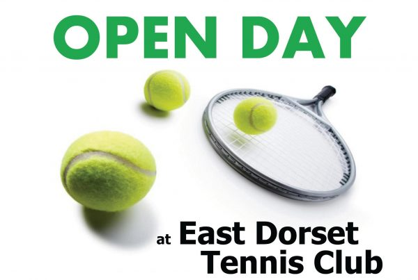 Tennis Open Day – Saturday 9th September