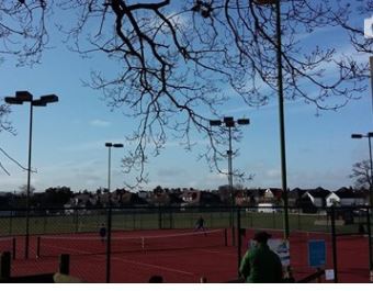 Clay courts official opening – Saturday 24th March