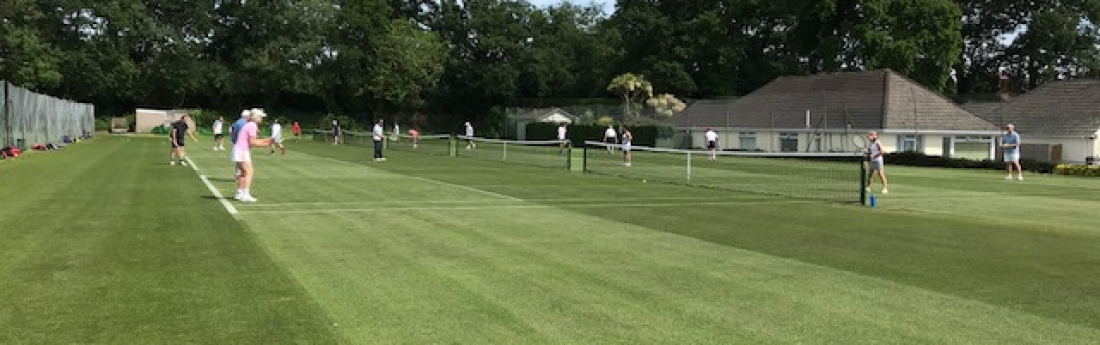 Grass Court 1 June