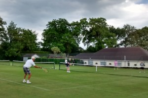 Grass courts